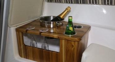Спортна лодка Fibrafort 255 интериор