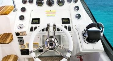 Круизна моторна лодка Fibrafort 330