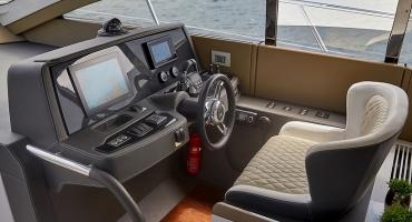 Луксозна яхта Schaefer 510 - управление