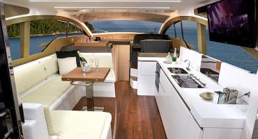 Луксозна яхта Schaefer 510 - интериор