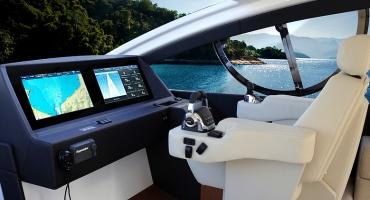 Луксозна яхта Schaefer 580 - управление