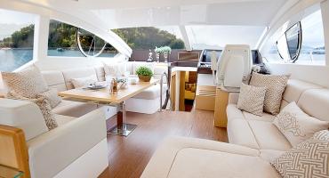 Луксозна яхта Schaefer 580 - интериор
