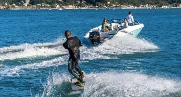 Моторна лодка Fibrafort 188 - водни ски