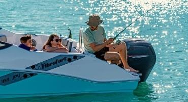 Моторна лодка Fibrafort 188