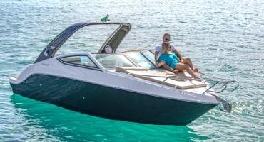 Моторна лодка Fibrafort 242 GTC
